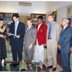 Ms. Sonia Gandhi TPS Bart Joginder Troy Air Marshall Keelor and Noel Phillips (SO Bharat CEO)
